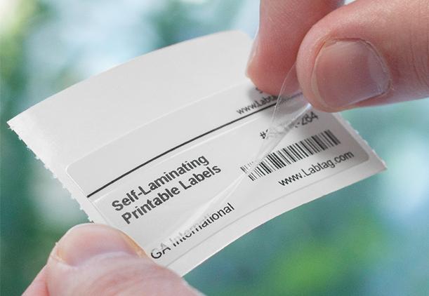 Self-Laminating-ID-Labels